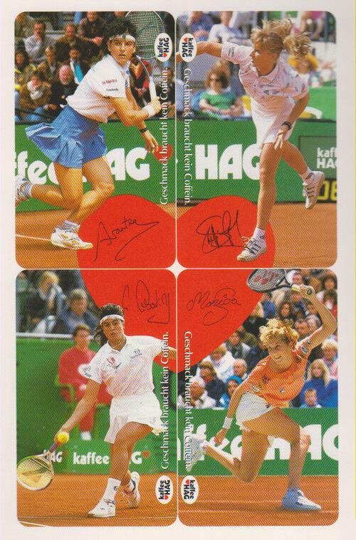 Folder - 4 St. - K-Karten von Tennis (siehe Fotos) RAR - (59)