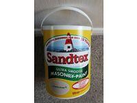 Sandtex Ultra Smooth Masonry Paint 5L Country Stone