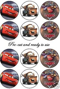 edible-cars-cake-toppers-PRE-CUT-Any-4th-free