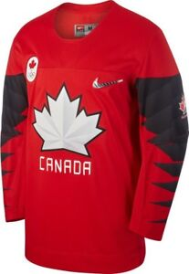 NIKE Team Canada 2018 Olympic Hockey Jersey Men's S BWNT $160
