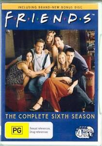 FRIENDS FRENDS SEASON SERIES SIX 6 DVD BOXSET 4 DISCS AS NEW Heidelberg West Banyule Area Preview