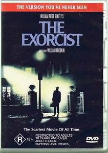 THE EXORCIST DVD EXTENDED CUT AS NEW WILLIAM PETER BLATTY Heidelberg West Banyule Area Preview
