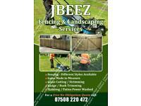 JBEEZ fencing and landscaping services