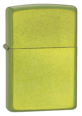 Zippo Lurid Green Translucent Powdercoate Finish WindProof L