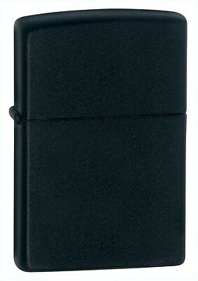 Zippo Windproof Black Matte Lighter   Item 218  New In Box
