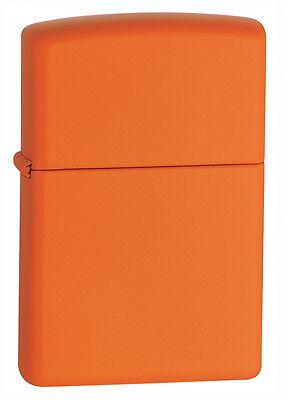Zippo Windproof Orange Matte Lighter, 231, New In Box