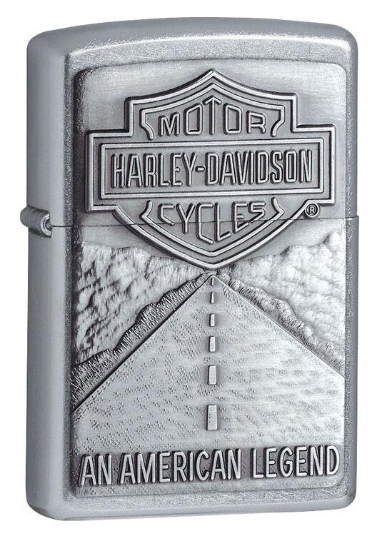 Zippo Harley Davidson Street Chrome LIghter, American Legend  #  20229, NIB