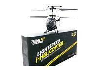 LIGHTSPEED helicopter with onboard camera.