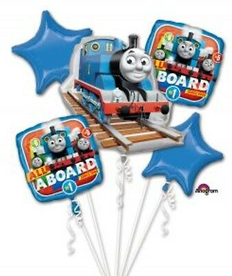 Thomas The Train Anagram Balloon Bouquet Birthday Party Decorations