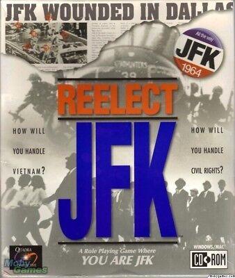 REELECT JFK PC GAME +1Click Windows 10 8 7 Vista XP Install