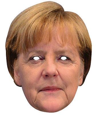 Angela Merkel Maske NEU - Karneval Fasching Maske Gesicht