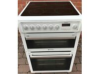 Hotpoint 60cm electric cooker , can deliver