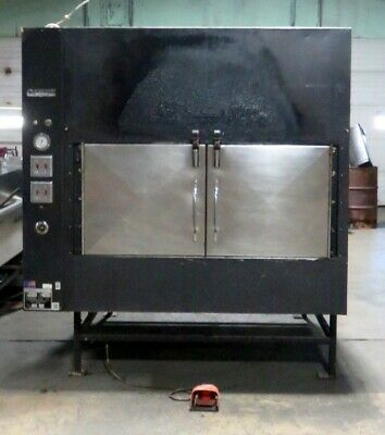 Ole Hickory Pit El-edx Bbq Smoker Natural Gas Cooker Rotisserie Oven B