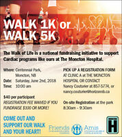 Cardiac Walk of Life