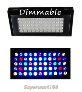 Evergrow Dimmable Full Spectrum D120 120W LED Light For Reef saltwater aquarium