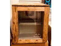 Limited addition redbull fridge oak
