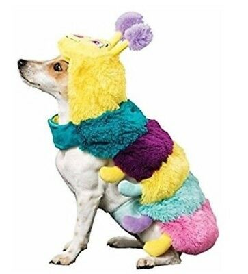 US Halloween Dog Costume Plush Caterpillar Fancy Dress Outfit Clothing Large (Dog Caterpillar Costume)