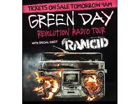 Green Day Belfast 28th June x 2