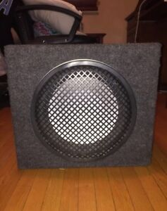 subwoofer with enclose