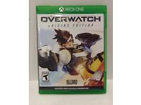 XBOX ONE OVERWATCH GAME