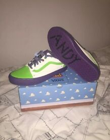 Toy Story Vans Size 6 - Unisex Buzz Lightyear Limited Edition SOLD OUT