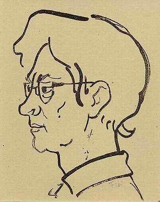 IPHIGENIE - H.FLEISCHER - 1954 handsignierte OrigLithographie (PECHSTEIN-PREIS)