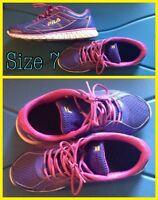 Filas shoes & Elizabeth Taylor Perfume