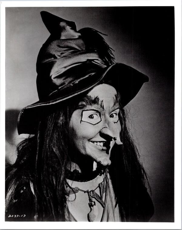 H R Pufnstuf TV series 8x10 photo Witchiepoo Billie Hayes