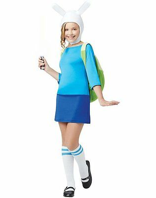 Adventure Time Deluxe FIONNA Costume Sz 4-6 8-10 12-14 14-16 New Girls Halloween - Adventure Time Costumes For Girls