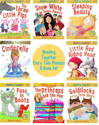Reading Together Fairy Tale Phonics  Pb  Three Pigs Cinderella Puss In Boots 8Pk