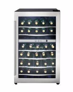 Refroidisseurs à vin 38 Bouteilles 2 zones Danby ( DWC040A3BSSDD )