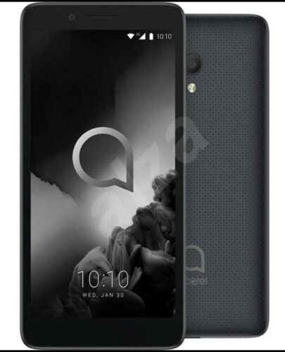 Android Phone - Alcatel 1C 2019 5003D 5inch 8GB Black Unlocked Dual SIM- phone only A+ grade