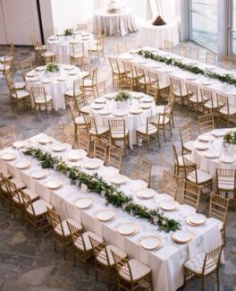 Event furniture chair and table hire MELBOURNE
