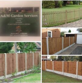 A & M Fencing and Garden Services