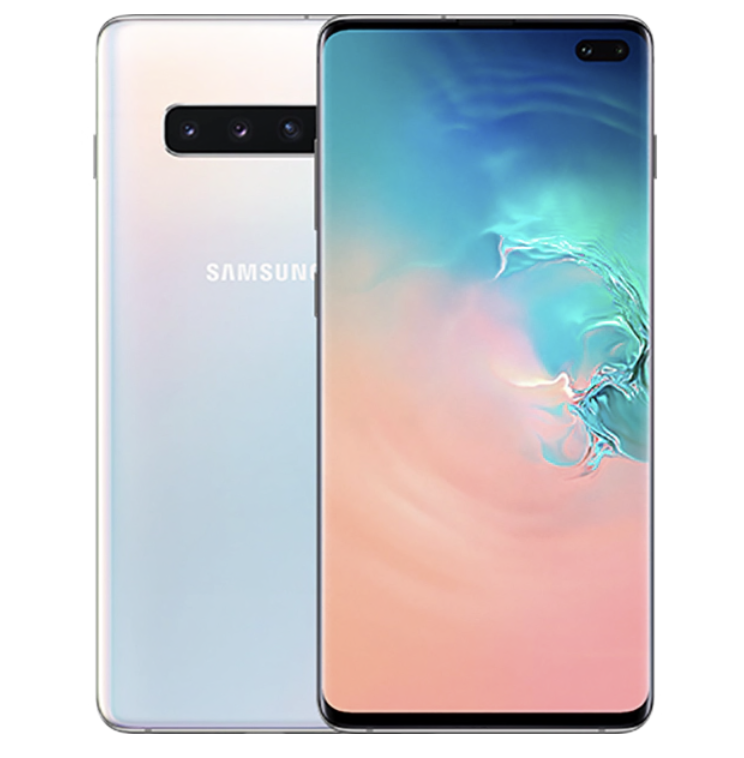 New Samsung Galaxy S10 Plus SM-G975F 128GB Dual Sim Unlocked Prism Black & White