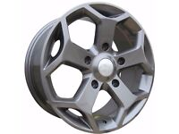 "18"" Load Rated Gunmetal Transit St Style Alloys and Tyres"