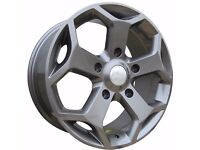 """18"""" Gunmetal Transit ST Style Alloy Wheels and Load Rated tyres"""