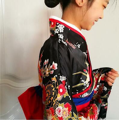 Frauen Anime Mädchen Supia-yisol Jigoku Shoujo Cosplay Kimono Lolita Kleid hot L