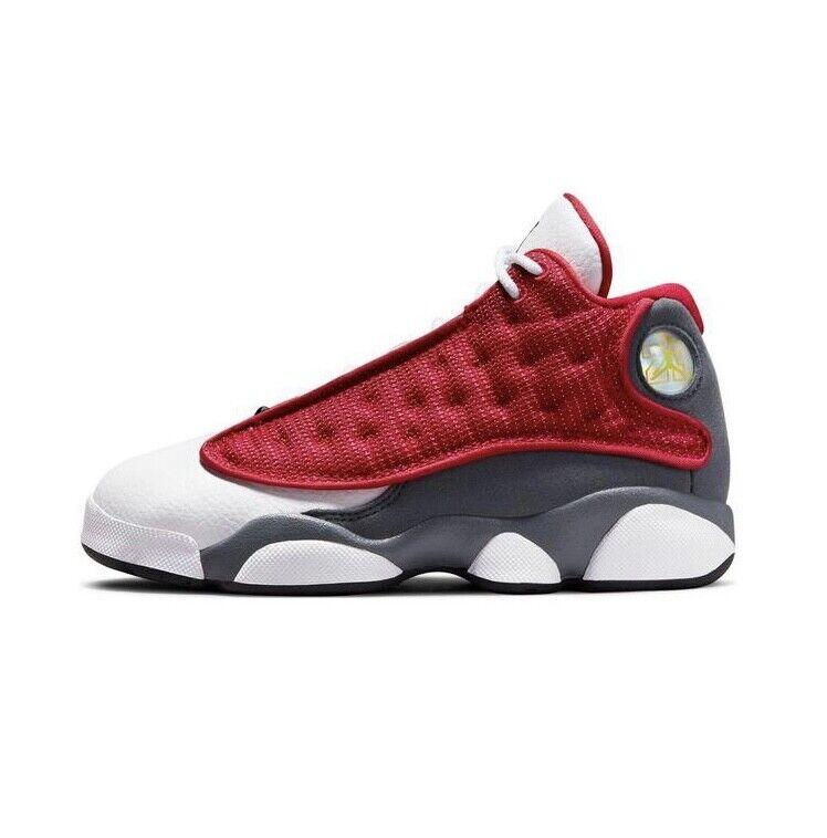 Nike Air Jordan Retro 13 XIII Gym Red Flint Grey White Gray Preschool PS Size