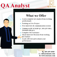 SOFTWARE QA ANALYST CLASSES WITH JOB ASSISTANCE| ALL TOOLS COVER