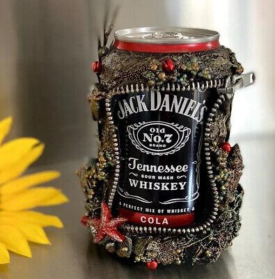 Jack Daniels Whiskey Jacky Cola Dose VOLL Getränk Steampunk Sammler Deko UNIKAT