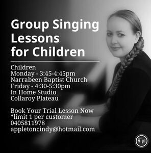 Children's Music Lessons. Collaroy Manly Area Preview