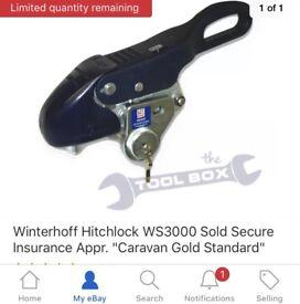 Gold standard hitch lock