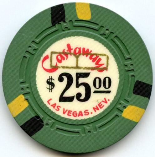 Castaways Hotel/Casino, Las Vegas - $25 Chip - 1963