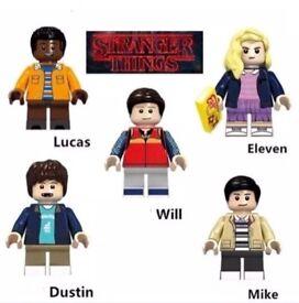 Lego stranger things figures complete set