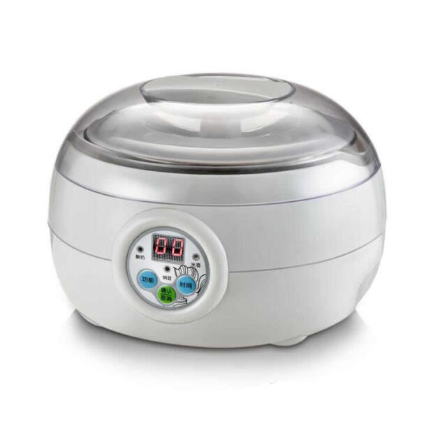 Electric Automatic Yoghurt Maker Rice Wine Natto Cuisine Container 1.5L FDA APP
