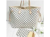 Louis Vuitton Neverfull Designer Womens Handbag Bag Wallet Travel Bag Holiday Bag