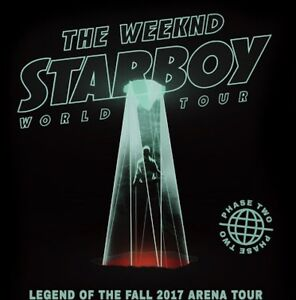 The Weeknd - Perth Concert GA Standing Tickets Kardinya Melville Area Preview