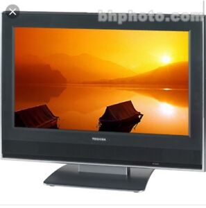 "20"" LCD TV TOSHIBA,Remote included."