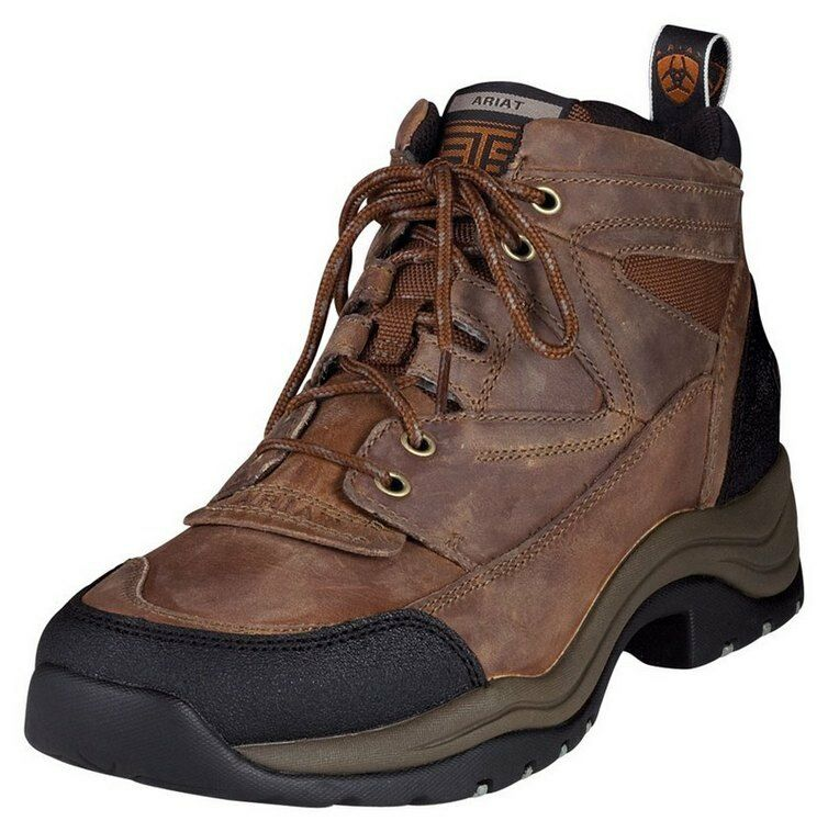 MENS ARIAT TERRAIN BOOTS! GREAT FOR RIDING, WORK, HIKING! 10